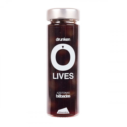 Almendra Pitted Olives with Sugar and Wine 180 g