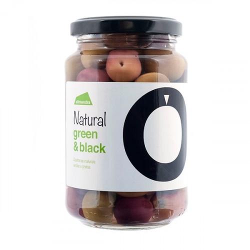 Almendra Olive Verdi e Nere 220 g