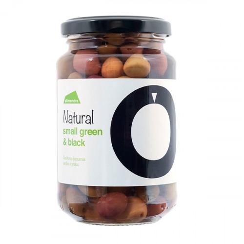 Almendra Petites olives vertes et noires