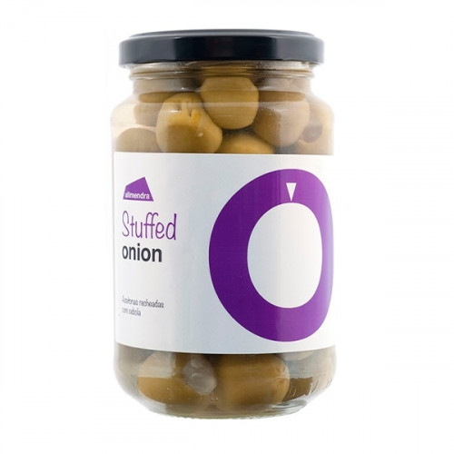 Almendra Green Olives Stuffed with Onion