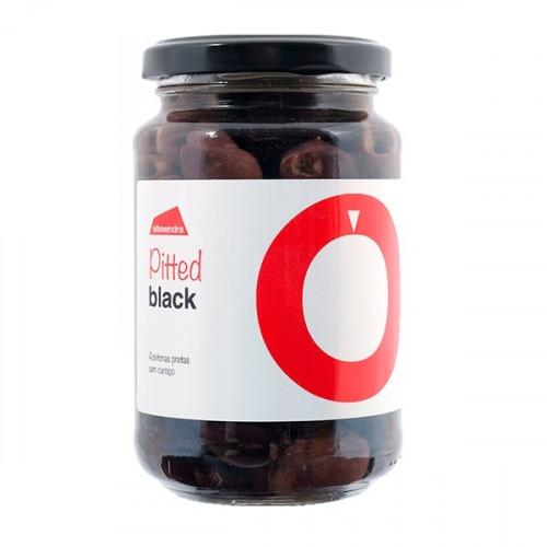 Almendra Aceitunas Negras Sin Hueso 180 g