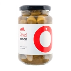 Almendra Entkernte grüne Oliven mit Zitrone