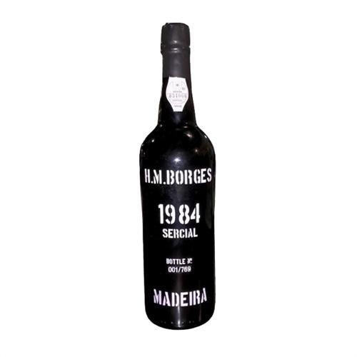 H M Borges Sercial Colheita Madeira 1984