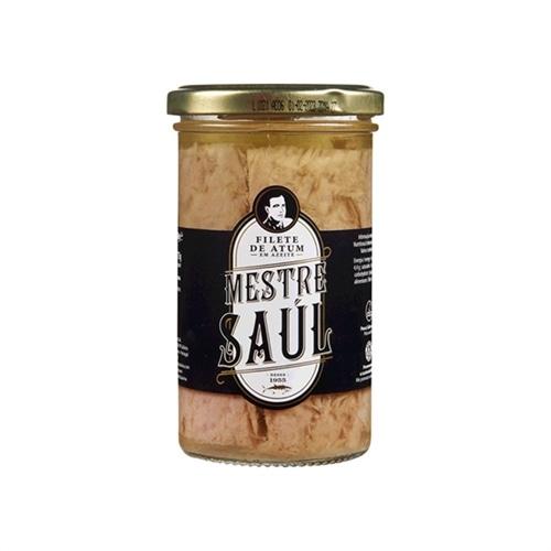 Mestre Saul Tuna Fillet in Olive Oil 250 g