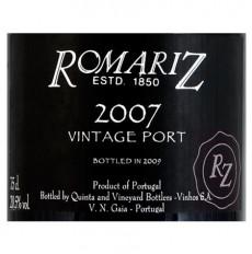 Romariz Vintage Portwein 2007