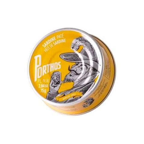 Porthos Paté de sardina