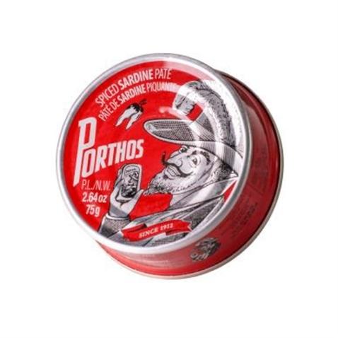 Porthos Paté de sardina picante