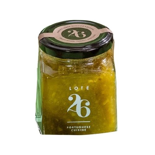 Lote 26 Paprika Tomaten und Oliven Marmelade