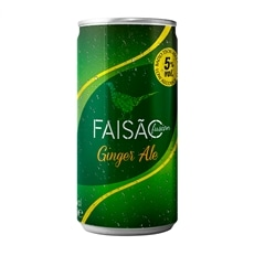 Faisão Fusion Ginger Ale em lata