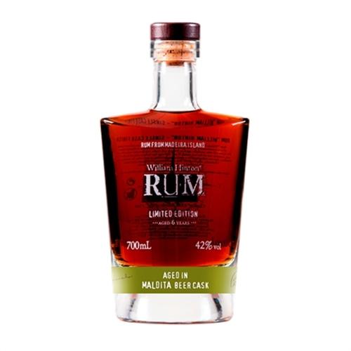 William Hinton 6 años Maldita Single Cask Rum