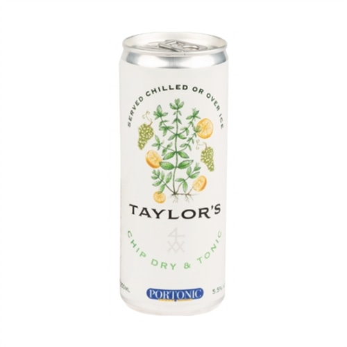 Taylors Chip Dry & Tonic in can
