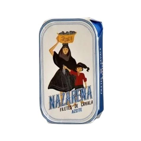 Nazarena Filetti di Sgombro in Olio di Oliva