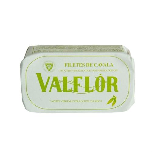 Valflor Filetti di Sgombro in olio d'oliva Piccante Olival da Risca