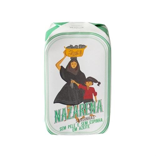Nazarena Boneless and Skinless Sardines in Olive Oil