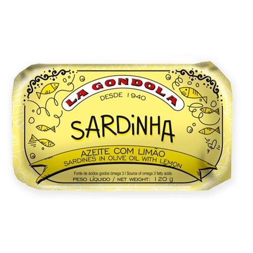 La Gondola Sardines in Olive Oil and Lemon