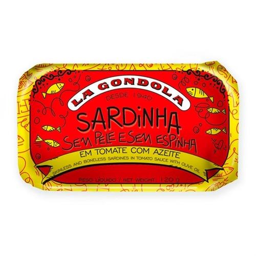 La Gondola Sardinas sin piel y deshuesadas en salsa de tomate