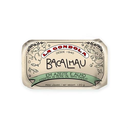 La Gondola Kabeljau in Olivenöl und Knoblauch