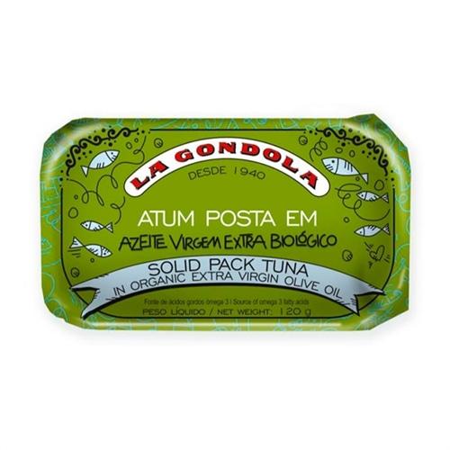 La Gondola Filete de Atum em Azeite Organico