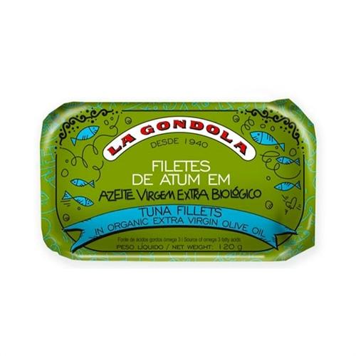 La Gondola Filetes de Atum em Azeite Extra Virgem Organico
