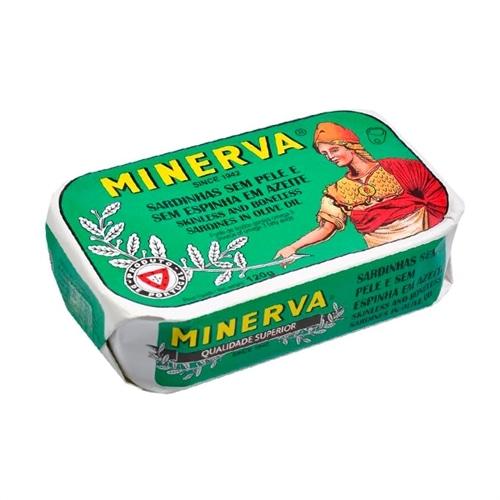Minerva Sardinhas Sem Espinhas e Sem Pele em Azeite