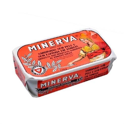 Minerva Skinless and Boneless Sardines in Tomato Sauce