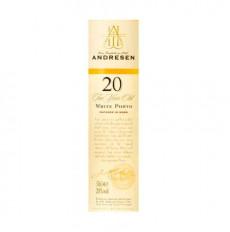 J H Andresen 20 Años White