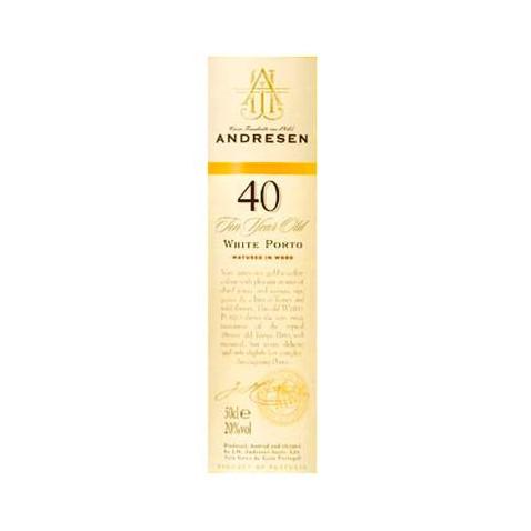 J H Andresen 40 years White...