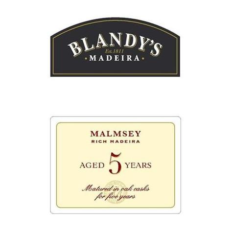 Blandys 5 ans Malmsey Rich...