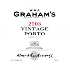 Grahams Vintage Port 2003