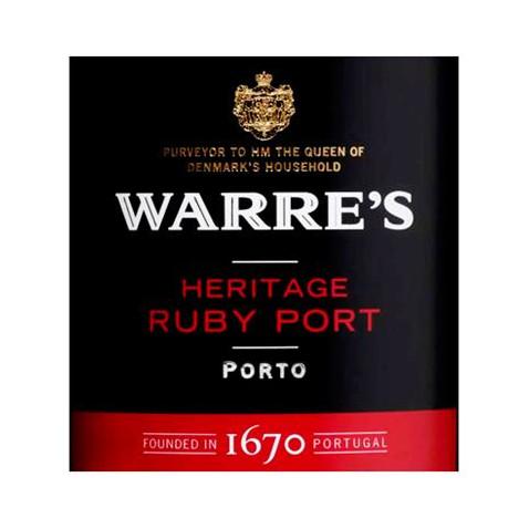 Warres Heritage Ruby Porto