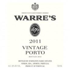 Warres Vintage Port 2011