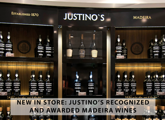 NEW IN STORE: Justino's recognized and awarded Madeira wines