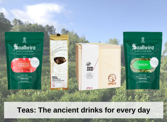 Teas from Soalheiro and Niepoort: The ancient drinks for every day