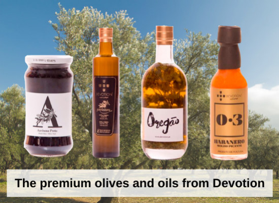 The premium olives and oils from Devotion