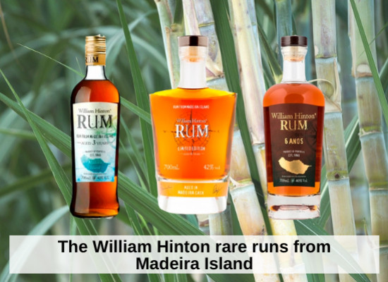 The William Hinton rare runs from Madeira Island