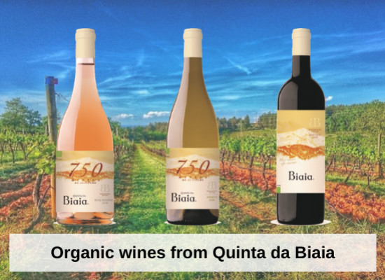 Organic wines from Quinta da Biaia