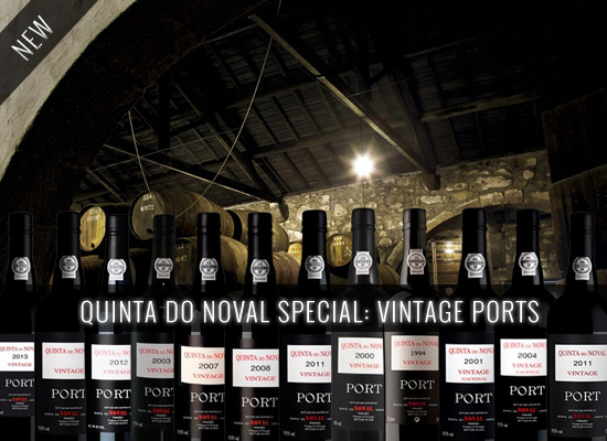 NEW IN STORE: Quinta do Noval Nacional 2001 and Quinta do Noval Vintage 2014
