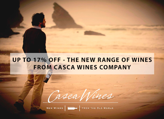 UP TO 17% OFF – The new range of wines from Casca Wines company
