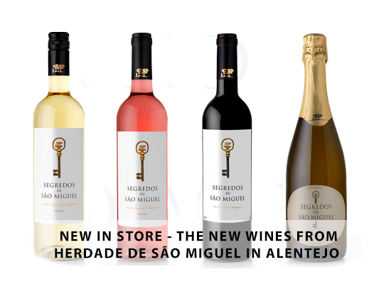 NEW IN STORE – The new wines from Herdade de São Miguel in Alentejo