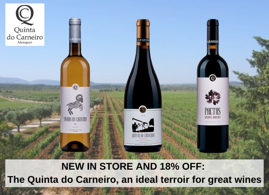 NEW IN STORE AND 18% OFF: The Quinta do Carneiro, an ideal terroir for great wines