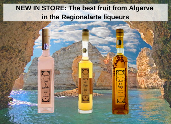 NEW IN STORE: The best fruit from Algarve in the Regionalarte liqueurs