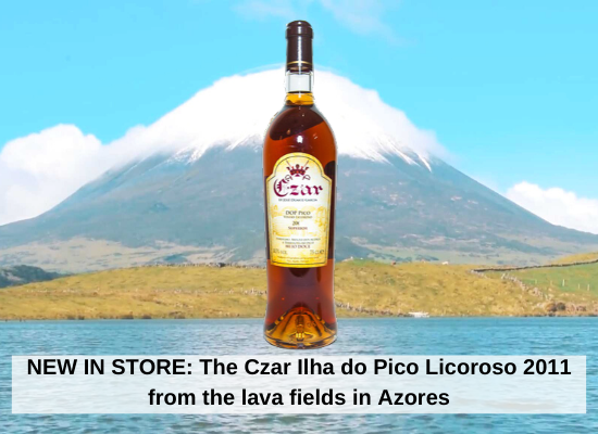 NEW IN STORE: The Czar Ilha do Pico Licoroso 2011 from the lava fields in Azores