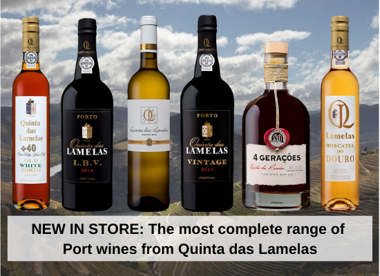 NEW IN STORE: The most complete range of Port wines from Quinta das Lamelas