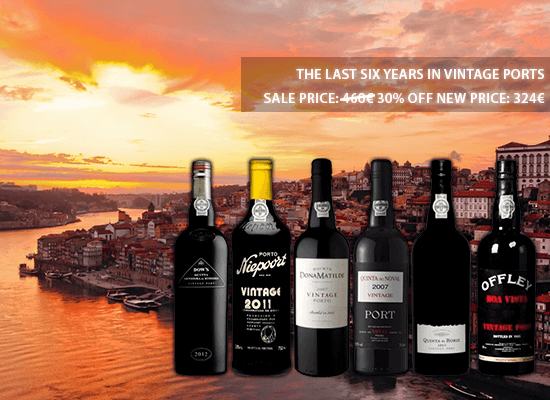 30% OFF on Six Vintage Ports from the latest vintage years
