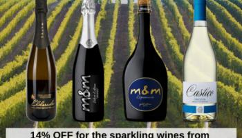 14% OFF for the sparkling wines from the Cave Central da Bairrada