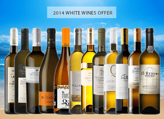 A selection of twelve White Wines from the 2014 Harvest with a special offer just for you