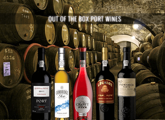 Out of the box Port Wines for those who like to be different