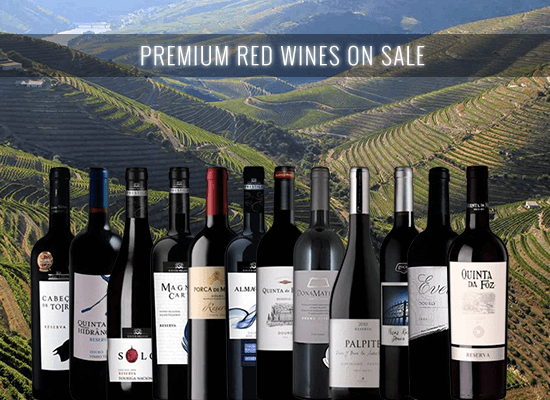 Up to 50% OFF in 12 great reserve red wines to drink now or to rest in your cellar