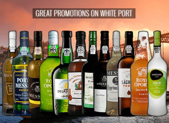 We have great promotions in the trendy and versatile white port category. Check it out