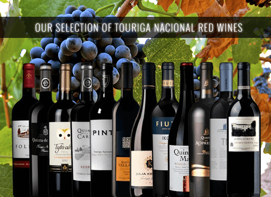 Find our selection of the 100% Touriga Nacional red wines in the main wine regions
